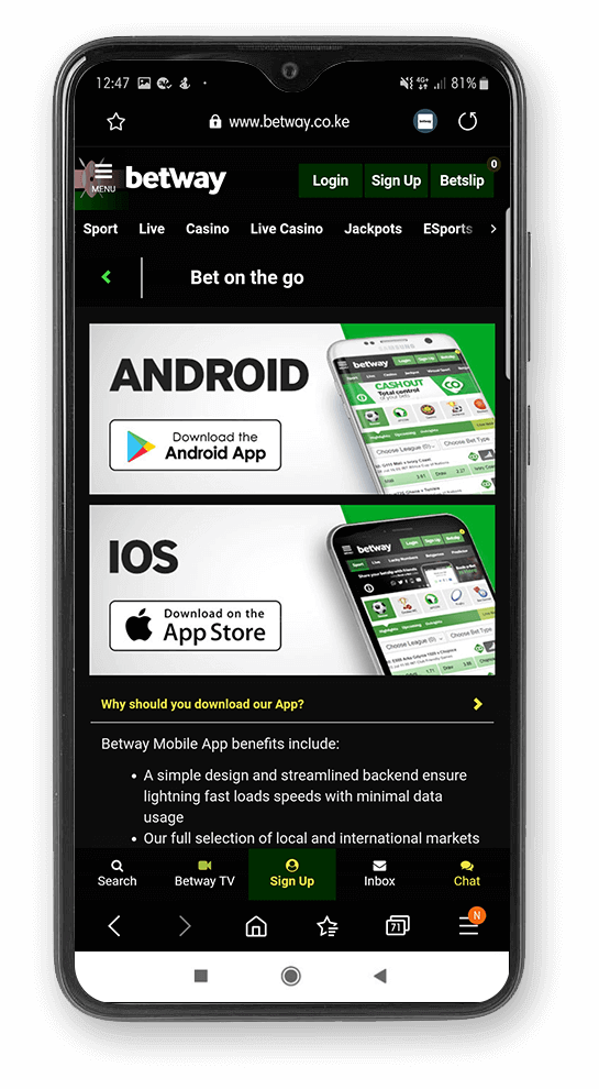 Betway_Android
